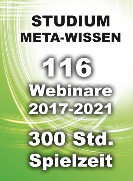 Alle 116 WEBINAR-VIDEOS auf USB-Datenträger