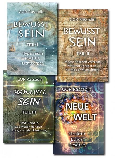 Neues BEWUSSTSEIN Bücherpaket