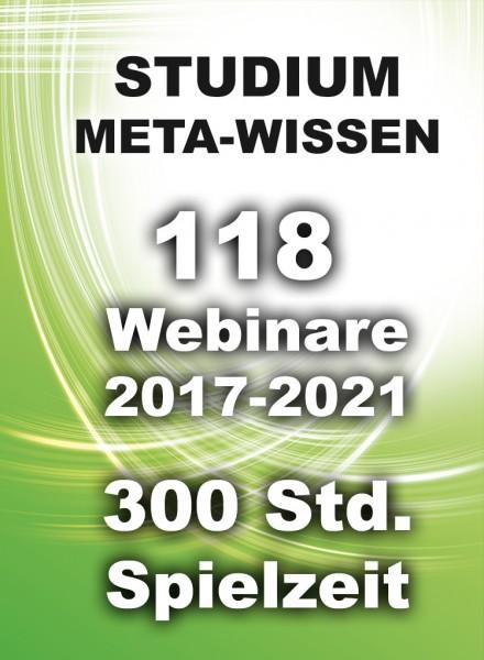 Alle 118 WEBINAR-VIDEOS auf USB-Datenträger