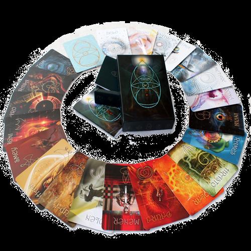 MERAL KartenSet | Din A6 21+2 Kosmogramme