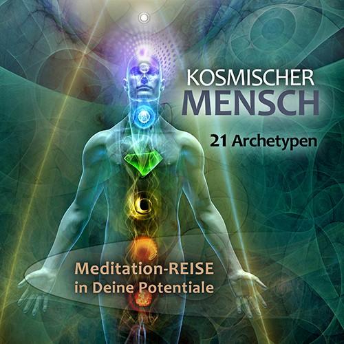 """CD """"KOSMISCHER MENSCH"""" 21 Archetypen REISE"""